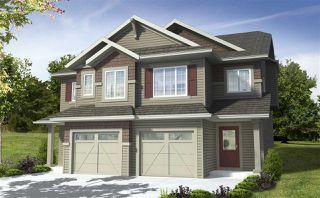 Photo 1: 7164 Edgemont Way in Edmonton: Zone 57 House Half Duplex for sale : MLS®# E4217372
