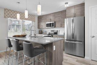 Photo 3: 7164 Edgemont Way in Edmonton: Zone 57 House Half Duplex for sale : MLS®# E4217372