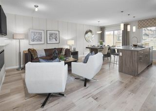 Photo 6: 7164 Edgemont Way in Edmonton: Zone 57 House Half Duplex for sale : MLS®# E4217372