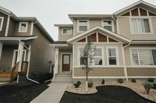 Photo 1: 2610 19A Avenue in Edmonton: Zone 30 House Half Duplex for sale : MLS®# E4171212