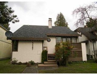 Photo 1: 4457 W 11TH Avenue in Vancouver: Point Grey House for sale (Vancouver West)  : MLS®# V695362