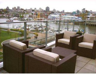 """Photo 10: 501 633 KINGHORNE MEWS BB in Vancouver: False Creek North Condo for sale in """"ICON II"""" (Vancouver West)  : MLS®# V697625"""