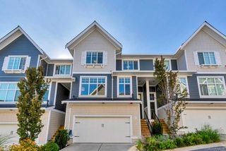 """Photo 1: 21 19938 70 Avenue in Langley: Willoughby Heights Townhouse for sale in """"Crest"""" : MLS®# R2497011"""