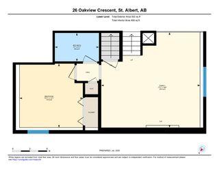 Photo 35: 26 Oakview Crescent: St. Albert House for sale : MLS®# E4208155