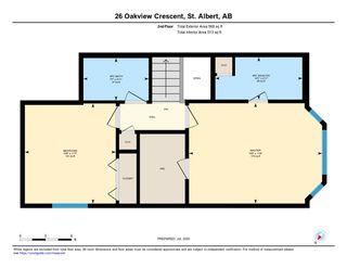 Photo 34: 26 Oakview Crescent: St. Albert House for sale : MLS®# E4208155