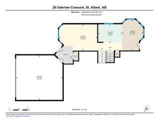 Photo 33: 26 Oakview Crescent: St. Albert House for sale : MLS®# E4208155