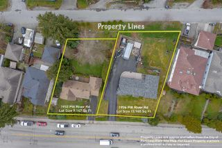 Photo 1: 1932 PITT RIVER Road in Port Coquitlam: Mary Hill Land for sale : MLS®# R2493521