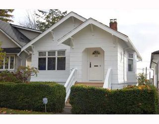 Photo 1: 312 E 45TH Avenue in Vancouver: Main House for sale (Vancouver East)  : MLS®# V677840