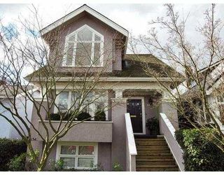 Photo 1: 1345 LABURNUM Street in Vancouver: Kitsilano House for sale (Vancouver West)  : MLS®# V632109