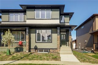Photo 2: 27 RAVENSTERN Point SE: Airdrie Semi Detached for sale : MLS®# C4286899