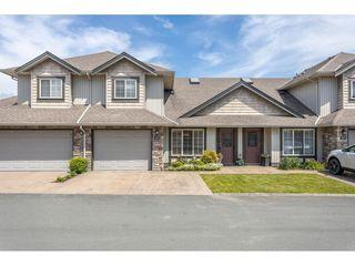 "Photo 1: 50 6449 BLACKWOOD Lane in Chilliwack: Sardis West Vedder Rd Townhouse for sale in ""CEDAR PARK"" (Sardis)  : MLS®# R2469029"