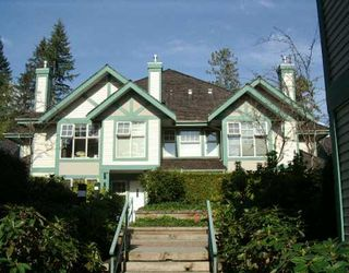 """Photo 1: 45 65 FOXWOOD DR in Port Moody: Heritage Mountain Townhouse for sale in """"FOREST HILL"""" : MLS®# V560341"""
