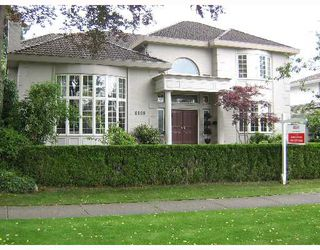 Photo 1: 6968 W WILTSHIRE Street in Vancouver: South Granville House for sale (Vancouver West)  : MLS®# V651119