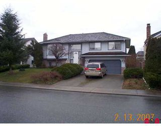 "Photo 1: 3376 HEDLEY Street in Abbotsford: Abbotsford West House for sale in ""Fairfield"" : MLS®# F2703762"