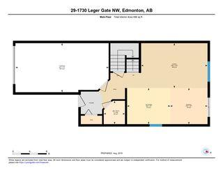 Photo 26: 29 1730 LEGER Gate in Edmonton: Zone 14 House Half Duplex for sale : MLS®# E4171738