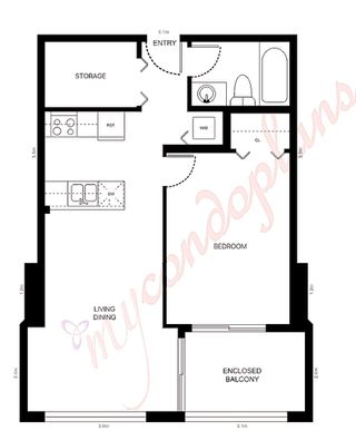 """Photo 10: 1105 1189 HOWE Street in Vancouver: Downtown VW Condo for sale in """"Genisis"""" (Vancouver West)  : MLS®# R2416331"""