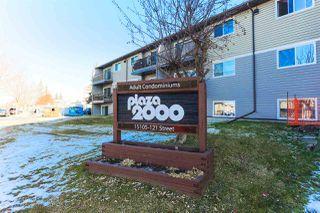 Photo 1: 224 15105 121 Street in Edmonton: Zone 27 Condo for sale : MLS®# E4180586