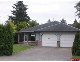 Photo 1: 15630 20TH Avenue in White_Rock: King George Corridor House for sale (South Surrey White Rock)  : MLS®# F2715617