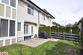 "Photo 10: # 62 18883 65TH AV in Surrey: Townhouse for sale in ""Applewood"" : MLS®# F1109959"
