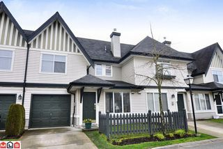 "Photo 1: # 62 18883 65TH AV in Surrey: Townhouse for sale in ""Applewood"" : MLS®# F1109959"
