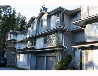 "Photo 1: 6 103 PARKSIDE Drive in Port_Moody: Heritage Mountain Townhouse for sale in ""TREE TOPS"" (Port Moody)  : MLS®# V693748"