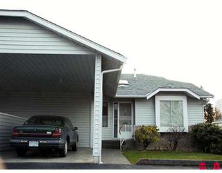 "Photo 1: 19 2989 TRAFALGAR Street in Abbotsford: Central Abbotsford Townhouse for sale in ""SUMMER WYND"" : MLS®# F2806093"