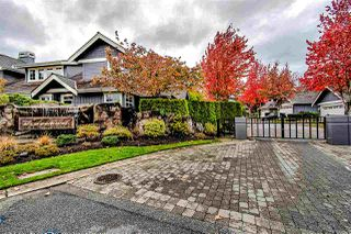 "Photo 1: 71 15715 34 Avenue in Surrey: Morgan Creek Townhouse for sale in ""WEDGEWOOD"" (South Surrey White Rock)  : MLS®# R2430855"