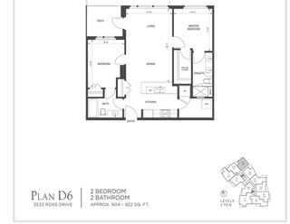 Photo 4: 504 3533 ROSS Drive in Vancouver: University VW Condo for sale (Vancouver West)  : MLS®# R2478259