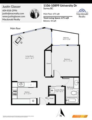 """Photo 34: 1106 10899 UNIVERSITY Drive in Surrey: Whalley Condo for sale in """"OBSERVATORY"""" (North Surrey)  : MLS®# R2507085"""