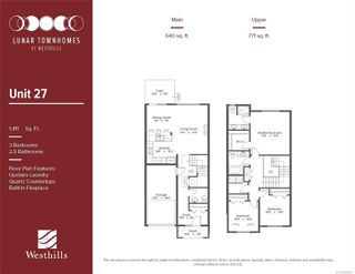 Photo 6: 2839 Lunar Crt in : La Westhills Row/Townhouse for sale (Langford)  : MLS®# 859404