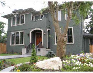 Photo 1: 2526 W 35TH AV in Vancouver: House for sale : MLS®# V759220