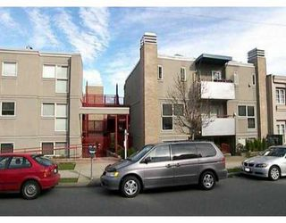 """Photo 1: 1195 W 8TH Ave in Vancouver: Fairview VW Townhouse for sale in """"ALDER COURT"""" (Vancouver West)  : MLS®# V633537"""