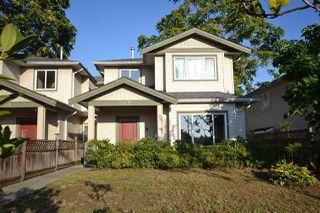 Photo 1: 307 BLUE MOUNTAIN Street in Coquitlam: Maillardville House 1/2 Duplex for sale : MLS®# R2409354