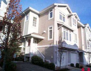 "Main Photo: 11 15068 58TH AV in Surrey: Sullivan Station Townhouse for sale in ""Summerridge"" : MLS®# F2524985"