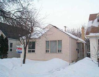 Main Photo: 591 SPRUCE Street in Winnipeg: West End / Wolseley Single Family Detached for sale (West Winnipeg)  : MLS®# 2502038