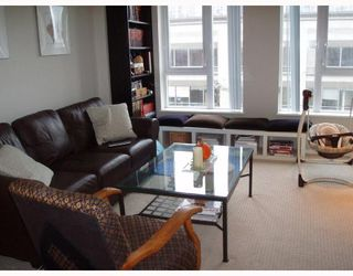 "Photo 2: 505 1001 HOMER Street in Vancouver: Downtown VW Condo for sale in ""THE BENTLEY"" (Vancouver West)  : MLS®# V674357"