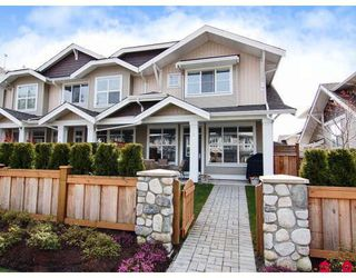 "Photo 1: 5 20460 66TH Avenue in Langley: Willoughby Heights Townhouse for sale in ""Willow Edge"" : MLS®# F2809393"