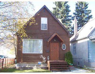 Photo 1: 206 HAMPTON Street in WINNIPEG: St James Single Family Detached for sale (West Winnipeg)  : MLS®# 2717433