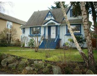 Photo 1: 822 W 27TH Avenue in Vancouver: Cambie House for sale (Vancouver West)  : MLS®# V632653
