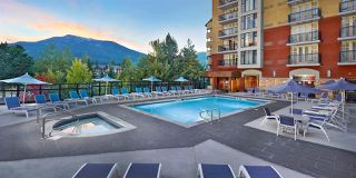 "Main Photo: 329/331 4050 WHISTLER Way in Whistler: Whistler Village Condo for sale in ""Hilton Resort Whistler"" : MLS®# R2424027"