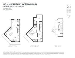 """Photo 8: SL39 37830 THIRD Avenue in Squamish: Downtown SQ Townhouse for sale in """"Lizzy Bay"""" : MLS®# R2471872"""