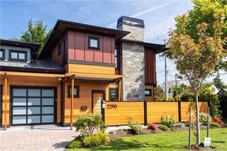 Photo 2: 2290 Estevan Ave in Oak Bay: OB Estevan Half Duplex for sale : MLS®# 837922