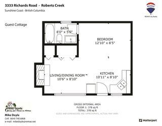 Photo 40: 3333 RICHARDS Road: Roberts Creek House for sale (Sunshine Coast)  : MLS®# R2526196