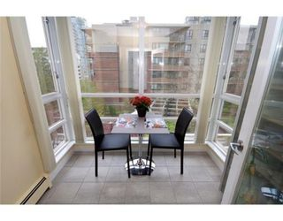 Photo 5: # 606 1201 MARINASIDE CR in Vancouver: Yaletown Condo for sale (Vancouver West)  : MLS®# V826272
