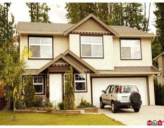 "Photo 1: 35118 LABURNUM Ave in Abbotsford: Abbotsford East House for sale in ""Clayburn Ridge"" : MLS®# F2710869"