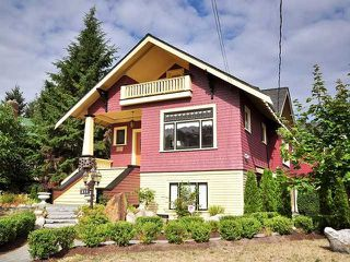 Main Photo: 211 REGINA ST. in NEW WESTMINSTER: Queens Park House for sale (New Westminster)  : MLS®# V847905