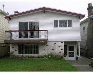 Photo 1: 5921 KERR Street in Vancouver: Killarney VE House for sale (Vancouver East)  : MLS®# V638882