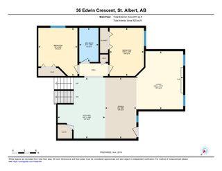 Photo 33: 36 EDWIN Crescent: St. Albert House for sale : MLS®# E4179161