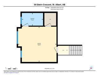 Photo 34: 36 EDWIN Crescent: St. Albert House for sale : MLS®# E4179161