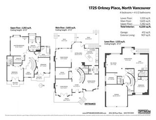 Photo 20: 1725 ORKNEY Place in North Vancouver: Northlands House for sale : MLS®# R2431722